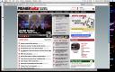 snapshot of Web site homepage