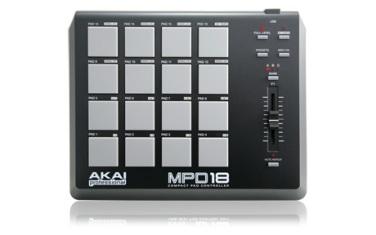 GEAR SPOTLIGHT – Akai MPD18 Controller | The Ballad of Mr  Fun